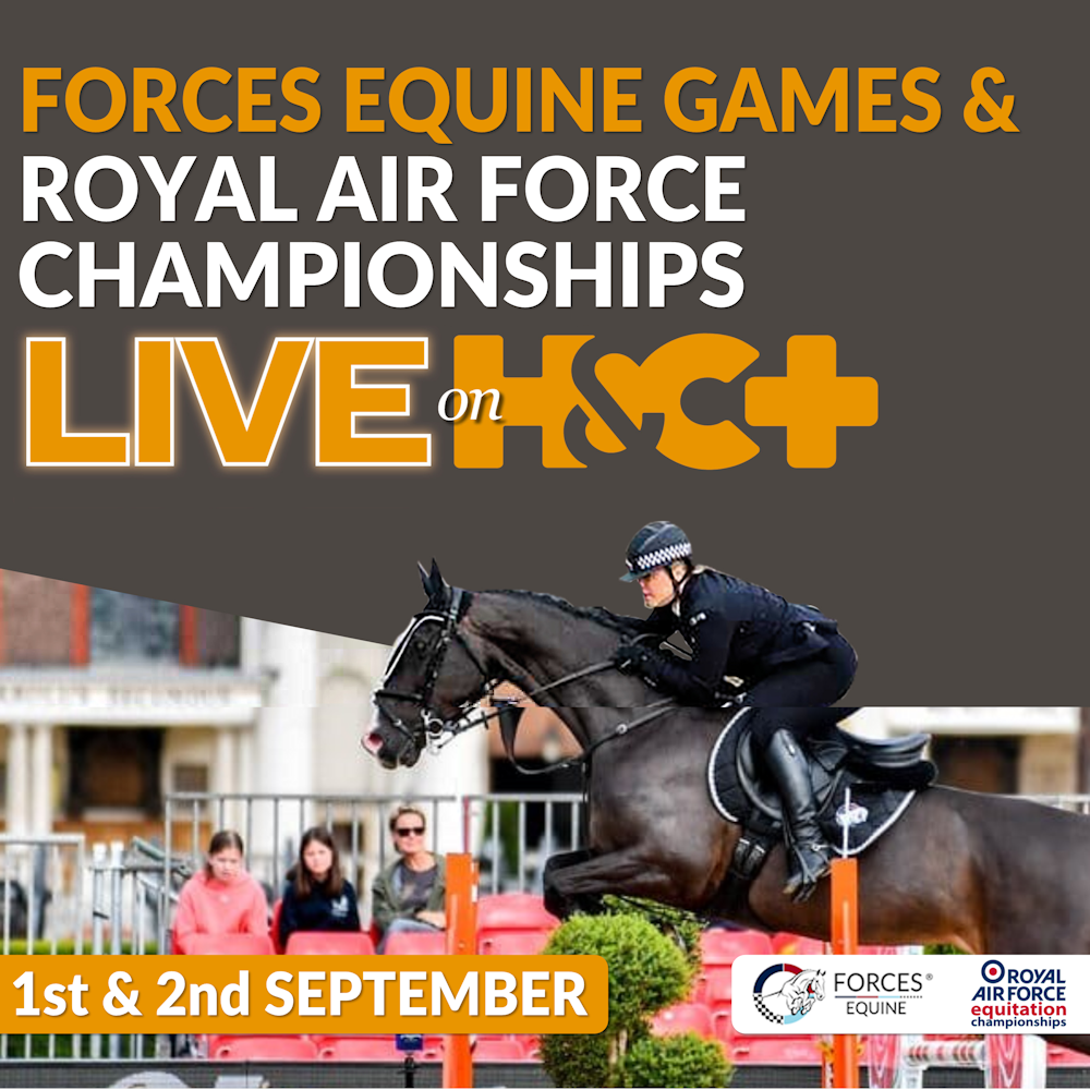 Horse & Country TV comes to #FEG & The Royal Air Force Championships!